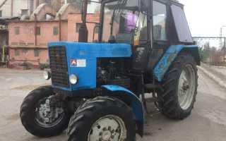 Особенности управления трактором МТЗ 82