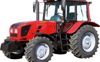 Технические характеристики модификаций трактора МТЗ 1021