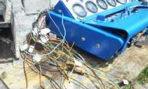 Схема проводки МТЗ 82(80) с большой и малой кабиной с описанием