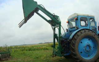 Кун на заднюю навеску трактора мтз своими руками, чертежи