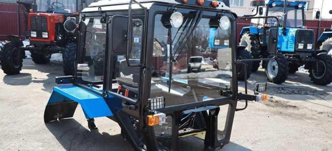 Устройство кабин трактора Беларус МТЗ 82 (80)
