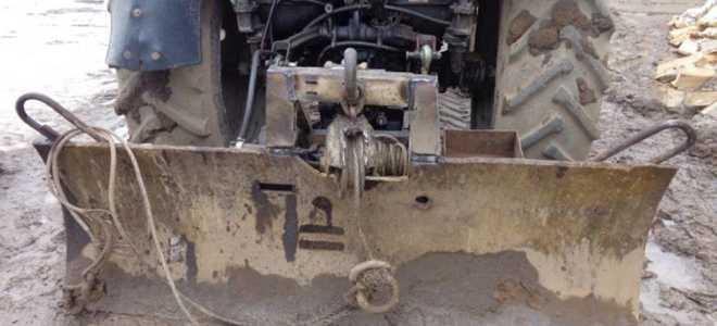 Лебёдки на трактор Беларус МТЗ 82