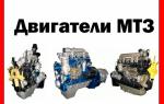 Двигатели МТЗ: схема и устройство, различные модели двигателей для тракторов и их технические особенности