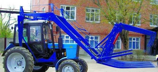 Стогомёт для трактора Беларус МТЗ 80