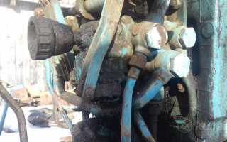 Гидравлический догружатель сцепного веса ведущих колёс трактора МТЗ 80 (82)