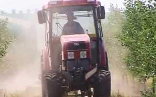 Специальный садовый трактор Беларус МТЗ 921, особенности конструкции и характеристики