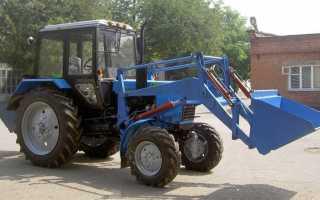 Выбор фронтального погрузчика КУНа на трактор МТЗ 82 (80), особенности эксплуатации