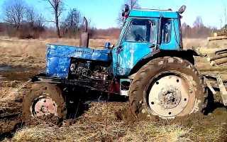 Расчёт расхода топлива трактора МТЗ-80, МТЗ-82