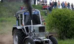 Причины появления дыма в выхлопах двигателя трактора МТЗ Беларус