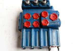Устройство гидрораспределителя МТЗ 82: неисправности, ремонт и подключение