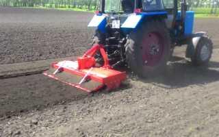 Классификация и модельный ряд навесных почвофрез для тракторов МТЗ