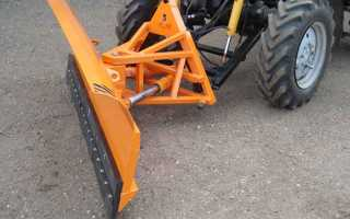Снегоуборочные навесные машины для трактора МТЗ