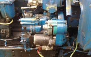 Устройство и работа пускового двигателя трактора МТЗ 80(82)