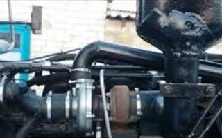 Установка турбины на МТЗ 80(82) и настройка топливной под турбонаддув