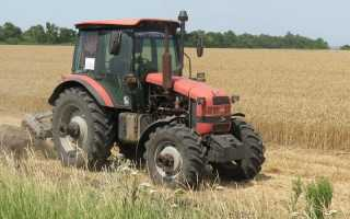 Обзор трактора Беларус МТЗ 1523