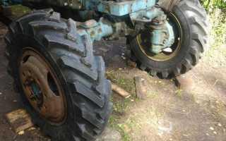 Размеры передних и задних шин для колёс ведущих мостов МТЗ 82