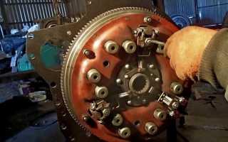 Устройство механизма муфты-сцепления МТЗ 82 (80)