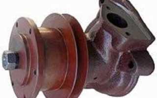 Конструкция водяной помпы МТЗ 82(80): неисправности и ремонт узла