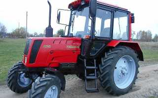 Технические характеристики трактора Беларус МТЗ 826