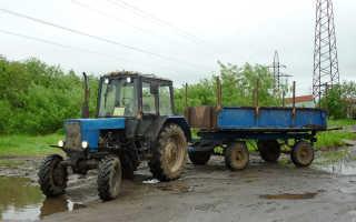 Прицепы для трактора МТЗ 82 Беларус: модельный ряд и характеристики
