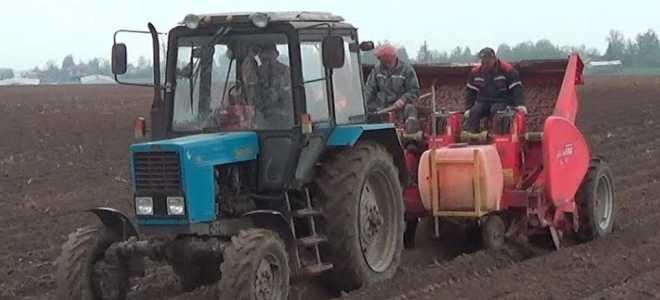 Особенности конструкций и модельный ряд картофелесажалок для тракторов МТЗ Беларусь