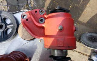Устройство промежуточной опоры МТЗ 82: ремонт, регулировка, обслуживание