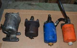 Топливные фильтры грубой и тонкой очистки старого и нового образца трактора МТЗ 82