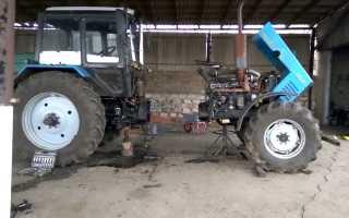 Раскатка трактора МТЗ, приспособление для раскатки своими руками