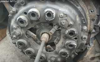 Устройство и регулировки муфты сцепления трактора Беларус МТЗ 1221