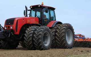 Технические характеристики трактора Беларус МТЗ 3522