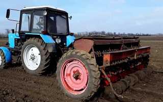 Сеялки для тракторов МТЗ Беларусь