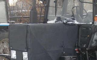 Утеплительный чехол капота для трактора МТЗ 80(82)