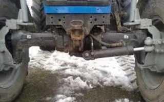Регулировка развала схождения колёс трактора МТЗ 82(80)