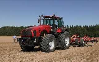 Технические характеристики трактора Беларус МТЗ 4522
