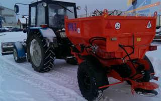 Тракторный пескоразбрасыватель для МТЗ 82, МТЗ 80. Модели, принцип работы