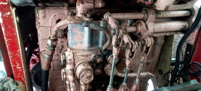Устройство, схема и узлы гидравлической системы МТЗ 80