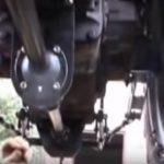 Карданная передача привода переднего ВОМ