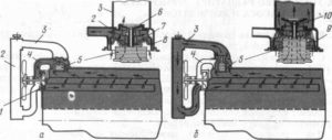 Схема работы системы охлаждения