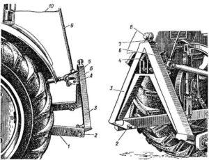 автосцепка трактора