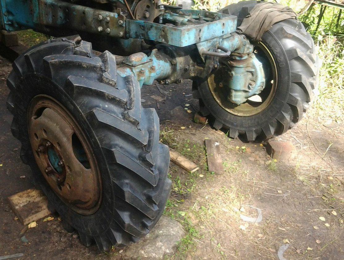 колёса трактора