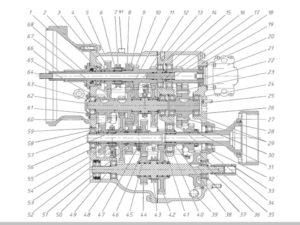 коробка передач МТЗ 622