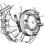 Пакет регулировочных пластин в регулировке зацепления шестерён колёсного редуктора