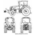 трактор МТЗ 2122