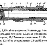 подъёмный гидроцилиндр стогомёта