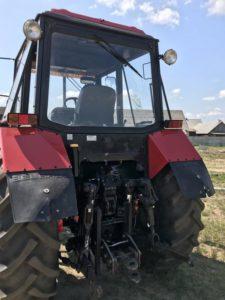 задняя навеска трактора