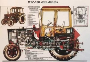 трактор МТЗ 102
