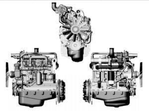 двигатель трактора мтз 1021