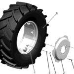 колесо переменным вылетом МТЗ 82