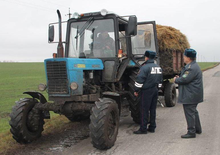 проверка удостоверения тракториста