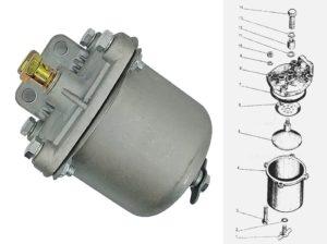 фильтр грубой очистки топлива МТЗ
